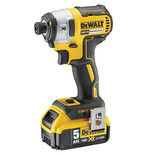 DeWalt DCF887P2 18V 3 Speed Impact Driver 2x5.0Ah Batteries and Charger