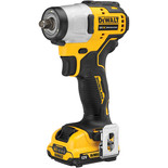 "DeWalt DCF902D2-GB 12V XR Brushless 3/8"" Impact Wrench 2 x 2Ah Batteries and Charger"