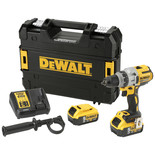 DeWalt DCD991P2-GB 18V XR Brushless 3 Speed Drill/Driver with 2x 5Ah Li-Ion Batteries