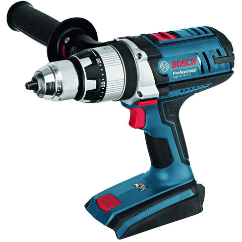 Image of Machine Mart Xtra Bosch GSB 36 VE-2-LI Professional Cordless Combi (Bare Unit Only)