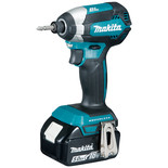 Makita DTD153RTJ 18V LXT BL Impact Driver with 2 x 5Ah Batteries
