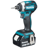 Makita DTD154RTJ 18V LXT BL Impact Driver with 2 x 5.0Ah Batteries