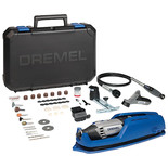 Dremel 4000 Rotary Tool with 4 Attachments and 65 Accessories (230V)