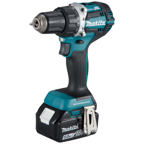 Image of Makita Makita DDF484RTJ 18V LXT BL Brushless Cordless Drill/Driver with 2 x 4Ah Batteries