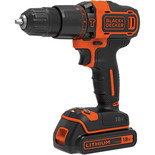 Black & Decker 18V 2 Speed Hammer Drill with 2 x 1.5Ah Batteries