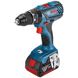 Bosch GSB 18 V-28 Professional DYNAMIC Series 18V Combi Drill (with 2 x 5.0 Ah Batteries, AL 1860 CV Charger in a L-BOXX)