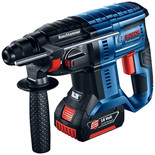 Bosch GBH 18 V-20 Professional SDS-Plus 18V Rotary Hammer (with 2 x 5.0 Ah batteries, AL 1860 CV charger in an L-BOXX)