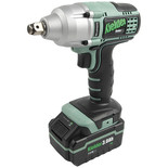 "Kielder KWT-002-CS02 1/2"" Drive 18V Brushless Impact Wrench and 2x3.0Ah Batteries"