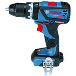 Bosch GSB 18V-60 C Professional Cordless Combi Drill Driver with 2x4Ah Batteries, Charger & L-BOXX