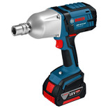 Bosch GDS 18 V-LI HT Professional 18V Impact Wrench (2 x 5.0 Ah Batteries, GAL 1880 CV Charger in a L-BOXX)
