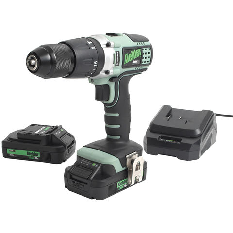 Image of Kielder Kielder KWT-001-17 18V Brushless Combi Drill with 2x2.0Ah Batteries