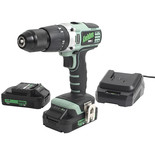 Kielder KWT-001-17 18V Brushless Combi Drill with 2x2.0Ah Batteries