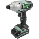 Kielder KWT-005-02 18V Brushless Impact Driver 2x1.5AH Batteries and Charger