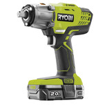 Ryobi ONE+ R18IW3-120S 18V Cordless 3 Speed Impact Wrench With 2Ah Battery