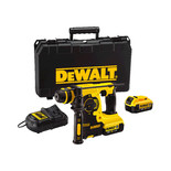 DeWalt DCH253M2 18V XR Li-Ion Hammer Drill, 2x4.0AH Batteries & Kit Box (SDS+)