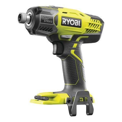 Image of Ryobi One+ Ryobi One + R18QS-0 18V Cordless Quiet Strike Impact Driver (Bare Unit)