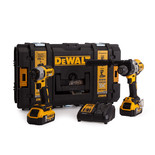 DeWalt DCK276P2 Impact Driver & Combi Drill with 2x5.0Ah Batteries