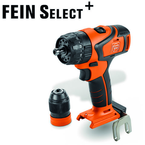 Image of Fein Fein Select+ ASB18Q 18V Cordless Hammer Drill Driver (Bare Unit)