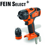 Fein Select+ ABS18Q 18V Cordless Drill/Driver (Bare Unit)