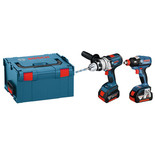 Bosch GSB & GDX 18V Twinpack with 2 x 5.0Ah Batteries