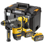 DeWalt DCH334X2-GB 54V XR FLEXVOLT SDS+ Quick Release 3 Hammer Drill with 2x 9Ah Li-Ion Batteries