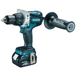 Makita DDF481RMJ 18V LXT BL Brushless Cordless Drill/Driver with 2 x 4.0Ah Batteries