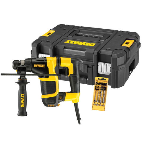 Image of DeWalt DeWalt D25052KT 20mm SDS-Plus Rotary Hammer Drill (110V)
