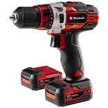 Einhell TE-CD 12/LI 12V Drill Driver Kit with 2 x 2.0AH Batteries