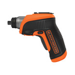 Black & Decker CS3652LC-GB 3.6 V Screwdriver with Right Angle Attachment