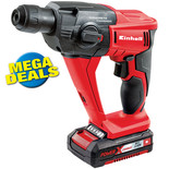 Einhell Power X-Change TE-HD 18 Li 18V Li-Ion SDS+ Rotary Hammer Drill with 1x1.5Ah Battery