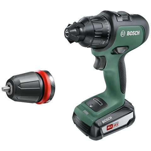 Image of Bosch Bosch AdvancedImpact 18 Cordless Hammer Drill (1 x 2.5Ah)