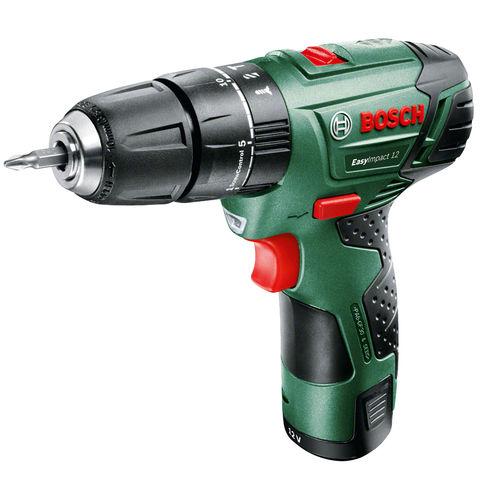 Image of Bosch Bosch Easy Impact 1200 (12V) Cordless Hammer Drill