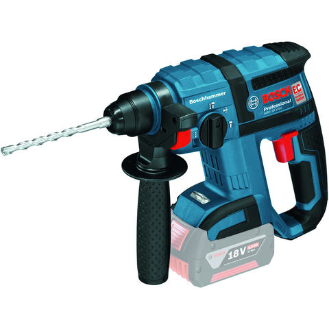 Image of Machine Mart Xtra Bosch GBH 18 V-EC Professional Cordless Rotary Hammer (Bare Unit)