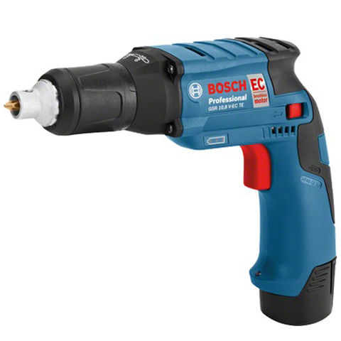 Image of Bosch Bosch GSR10.8V-EC TE Professional Cordless Drywall Screwdriver with 2x2.5Ah Batteries