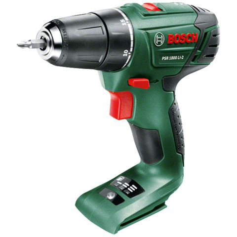 Bosch Bosch PSR 1800 LI-2 Cordless Drill Driver (Bare Unit)