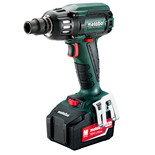 Metabo SSW 18 LTX 400 BL Cordless Impact Wrench with 2x4.0Ah Batteries