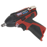 "Sealey CP1204 Cordless Impact Wrench 3/8""Sq Drive 80Nm 12V Li-ion (Bare Unit)"