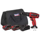 Sealey CP20VDDKIT Hammer Drill/Driver Kit Ø13mm 20V - (2 Batteries, Charger & Bag)