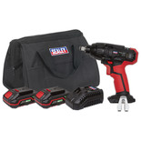 "Sealey CP20VIWKIT Impact Wrench 20V 1/2""Sq Drive 230Nm - (2 Batteries, Charger & Bag)"