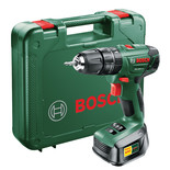 Bosch PSB1800LI-2 Combi Drill With 1x 1.5amp Battery & Carry Case