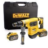 DeWalt DCH481X2-GB 54V XR FLEXVOLT SDS Max Hammer Drill with 2x 9.0Ah Li-Ion Batteries