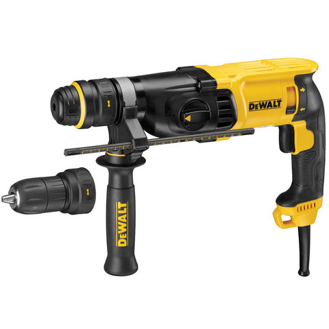 Image of DeWalt DeWalt D25134K 26mm 3 Mode Hammer Drill with QCC (110V)