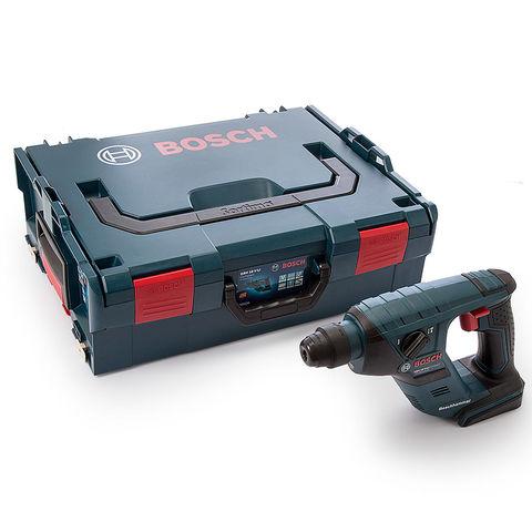 Image of Bosch Bosch GBH 18 V-LICPN 18V Li-Ion SDS+ Rotary Hammer Drill (Bare Unit with L-Boxx)