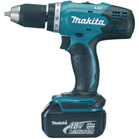 Image of Machine Mart Xtra Makita DDF453RFE 13mm Drill Driver 18V (2x3.0Ah Batteries)