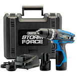 Draper Storm Force CHD108SF 10.8V Cordless Hammer Drill with 2x1.5Ah Batteries