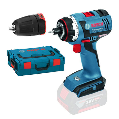 bosch gsr 18 v ec fc2 professional cordless drill driver bare unit with l boxx machine mart. Black Bedroom Furniture Sets. Home Design Ideas