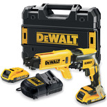 DeWalt DCF620D2K 18V Li-Ion Collated Drywall Screwdriver 2 x 2Ah Batteries
