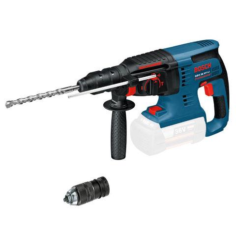 Image of Bosch Bosch GBH36VFLIN 36V Cordless Rotary Hammer (Bare Unit)