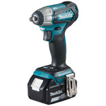 "Makita DTW180RMJ 18V LXT BL Brushless Cordless 3/8"" (9.5mm) 180Nm (130 ft.lbs.) Impact Wrench with 2 x 4.0Ah batteries"