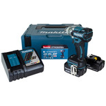 "Makita DTW285RMJ 18V  LXT BL Brushless Cordless 3-Speed 1/2"" (12.7mm) 280Nm (210 ft.lbs.) Impact Wrench with 2 x 4.0Ah batteries"